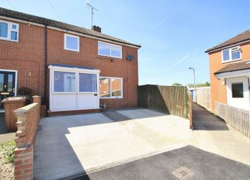 Thumbnail 3 bedroom end terrace house for sale in Kentwood Close, Cholsey, Wallingford