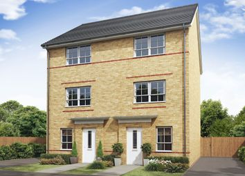 "Thumbnail 4 bedroom semi-detached house for sale in ""Haversham"" at Tiber Road, North Hykeham, Lincoln"