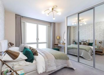 Thumbnail 1 bed flat for sale in Blackwall Reach, London