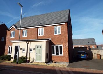 Thumbnail 3 bed semi-detached house for sale in St. Thomas Way, Hawksyard, Rugeley