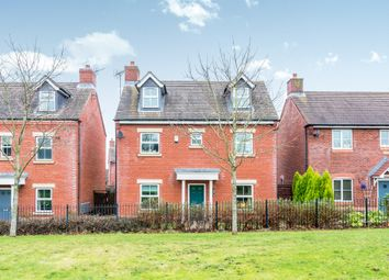 Thumbnail 4 bed detached house for sale in Falkland Road, Lichfield