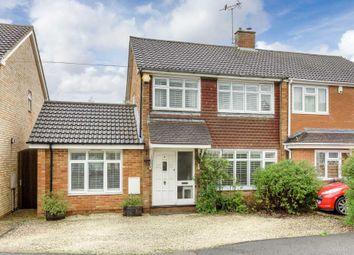 Thumbnail 3 bed semi-detached house for sale in Moorfield, Newton Longville, Milton Keynes