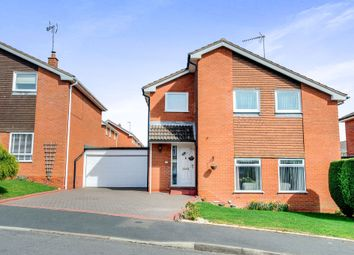 Thumbnail 4 bed detached house for sale in Marshfield Close, Church Hill North, Redditch