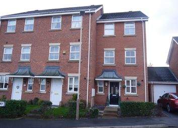 Thumbnail 4 bed town house for sale in Bakers Way, Leicester