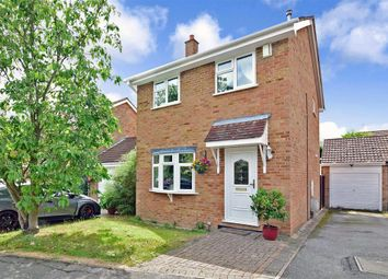 Thumbnail 3 bed detached house for sale in Graveney Close, Cliffe Woods, Rochester, Kent