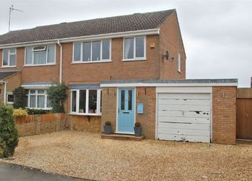 Thumbnail 3 bedroom semi-detached house for sale in Waggoners Way, Bugbrooke, Northampton