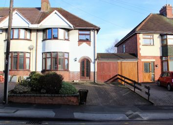 Thumbnail 3 bedroom semi-detached house for sale in Spring Road, Shelfield, Walsall
