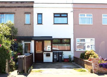 Thumbnail 2 bed terraced house for sale in Fernside Avenue, Feltham
