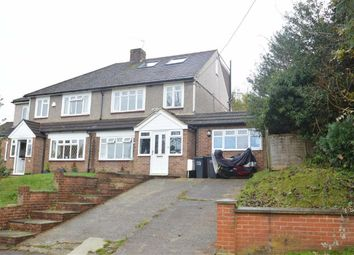 Thumbnail 4 bed semi-detached house for sale in Waddington Avenue, Coulsdon, Surrey