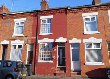 Thumbnail 3 bed terraced house for sale in Chatsworth Street, Leicester