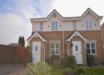 Thumbnail 2 bed semi-detached house to rent in Penkridge Road, Church Gresley, Swadlincote
