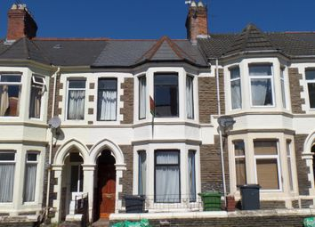 Thumbnail 4 bedroom terraced house to rent in Tewkesbury Street, Cardiff