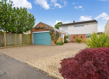 Thumbnail 4 bedroom detached house for sale in Longford Close, Wigston, Leicester