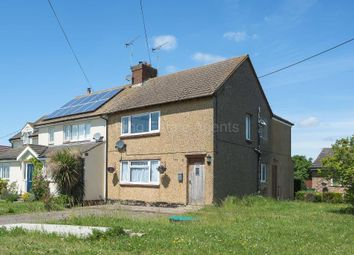 Thumbnail 3 bed semi-detached house for sale in Newport Road, Moulsoe