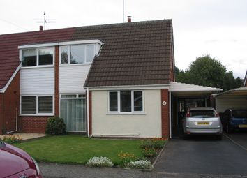 Thumbnail 3 bed semi-detached house to rent in The Deansway, Kidderminster, Worcestershire