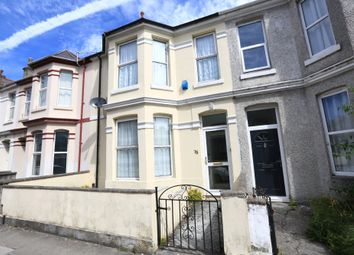 Thumbnail 3 bed terraced house for sale in Grenville Road, Plymouth