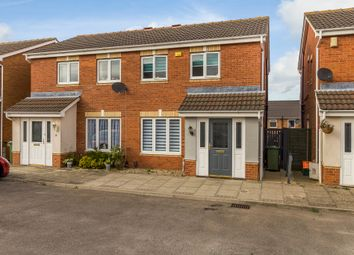 Thumbnail 3 bed semi-detached house for sale in Utgard Way, Grimsby