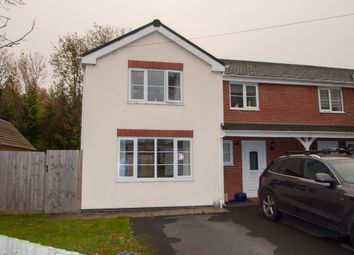 Thumbnail 3 bed semi-detached house to rent in Hollywell Close, Whitchurch, Ross-On-Wye