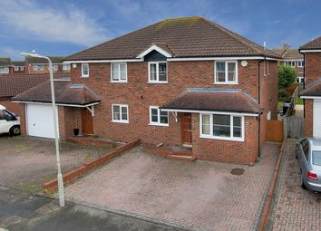 Thumbnail 4 bed semi-detached house for sale in Blackburn Road, Greenhill, Herne Bay, Kent