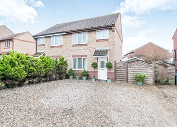 Thumbnail 3 bed semi-detached house for sale in William Booth Way, Felixstowe