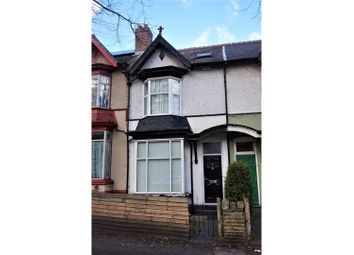 Thumbnail 5 bedroom terraced house for sale in Frances Road, Erdington, Birmingham