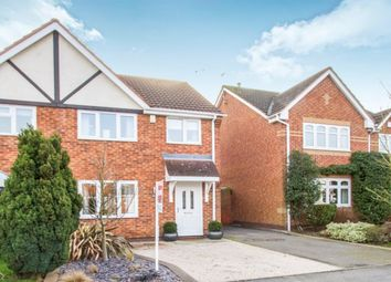 Thumbnail 3 bed semi-detached house for sale in Gainsborough Avenue, Hinckley