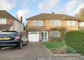 Thumbnail 4 bed semi-detached house for sale in Houndsden Road, Winchmore Hill