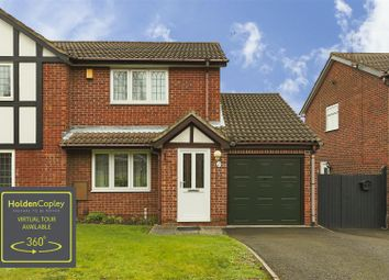 Thumbnail 2 bed semi-detached house for sale in Dylan Thomas Road, Bestwood Park, Nottinghamshire