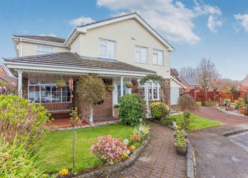 Thumbnail 4 bed detached house for sale in Croftside, Woolston, Warrington