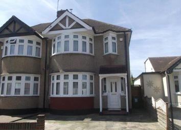 Thumbnail 3 bed semi-detached house for sale in Cambridge Avenue, Gidea Park, Romford