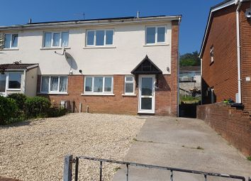 Thumbnail 3 bed semi-detached house to rent in Tyle-Teg, Clydach, Swansea