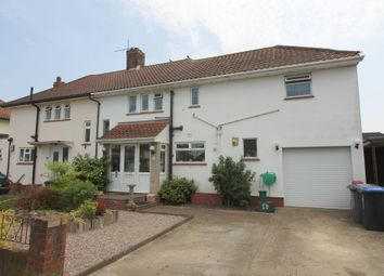Thumbnail 3 bed semi-detached house for sale in Stephens Close, Egham