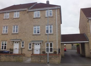 Thumbnail 3 bed end terrace house for sale in Sandalwood Road, Westbury, Wiltshire