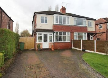 Thumbnail 3 bed semi-detached house for sale in The Circuit, Cheadle Hulme, Cheshire
