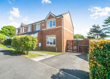 Thumbnail 3 bed semi-detached house for sale in Long Row Close, Greenside, Ryton