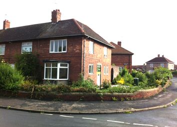 Thumbnail 3 bed end terrace house to rent in Holmes Carr Road, Rossington, Doncaster