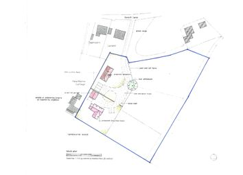 Thumbnail 8 bed property for sale in Goats Gambol Building Plot, Woodcote