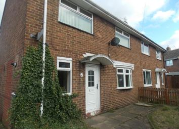 Thumbnail 2 bed semi-detached house to rent in Central Drive, Spennymoor, Durham