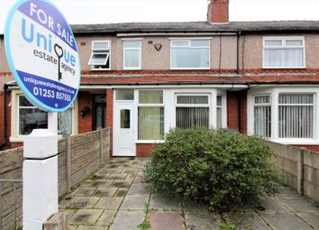 Thumbnail 2 bed terraced house for sale in Bramley Avenue, Fleetwood
