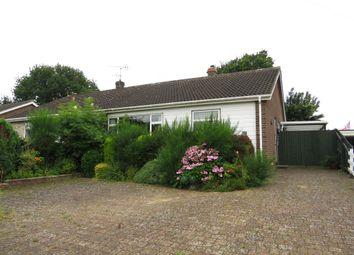 Thumbnail 2 bedroom semi-detached bungalow for sale in Ascot Gardens, Dereham