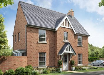 "Thumbnail 3 bed detached house for sale in ""Morpeth"" at Beggars Lane, Leicester Forest East, Leicester"