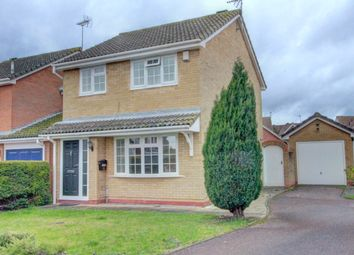 Thumbnail 3 bed detached house for sale in Ireton Way, March