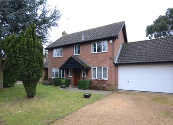 Thumbnail 4 bedroom detached house for sale in Newhurst Gardens, Warfield, Bracknell