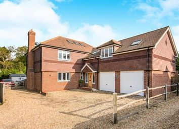 Thumbnail 4 bedroom detached house for sale in Bucks Horn Oak, Farnham, Surrey