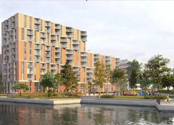 Thumbnail 1 bed flat for sale in Royal Wharf Walk, London