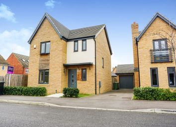 Thumbnail 3 bed detached house for sale in Coriander Drive, Peterborough