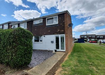 Thumbnail 3 bed end terrace house for sale in Howitts Gardens, Eynesbury, St. Neots