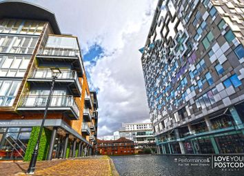 Thumbnail 2 bedroom flat to rent in Canal Wharf, 14 Waterfront Walk, Birmingham City Centre