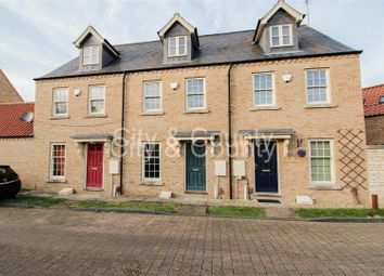 Thumbnail 3 bed town house for sale in Strawberry Avenue, South Bretton, Peterborough