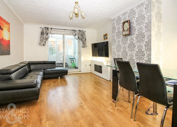 Thumbnail 3 bedroom terraced house for sale in Hansard Close, Norwich